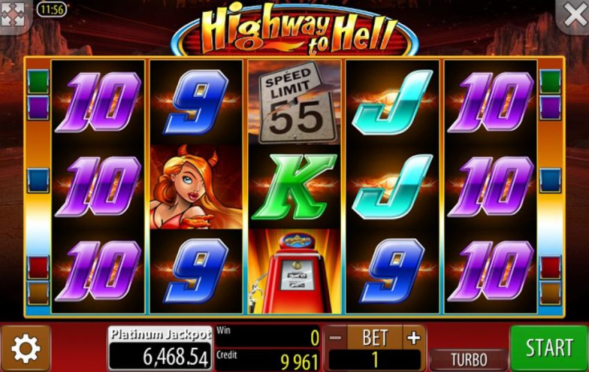 Highway To Hell Slot Machine